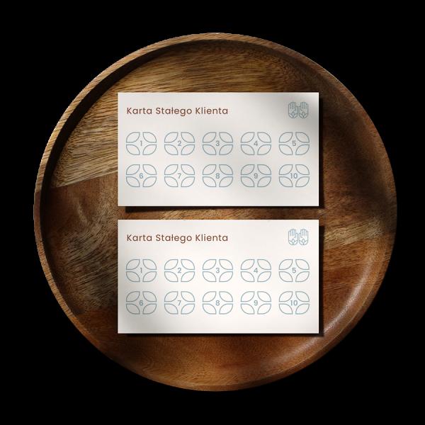 Wizualizacja Karty stałego Klienta #przystanek-masaż